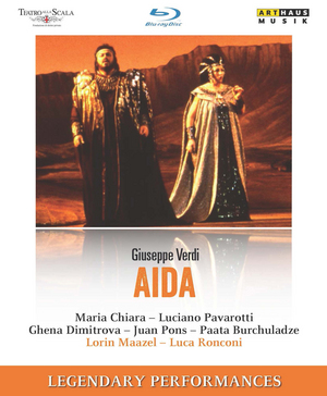 Aida: Teatro Alla Scala (Maazel) (1986) (Blu-ray) (Retail / Rental)