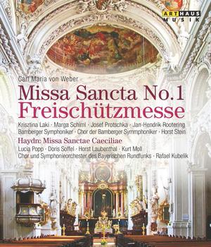 Von Weber/Haydn: Missa Sancta No. 1/Missa Sanctae Caeciliae (1986) (Blu-ray) (Retail / Rental)