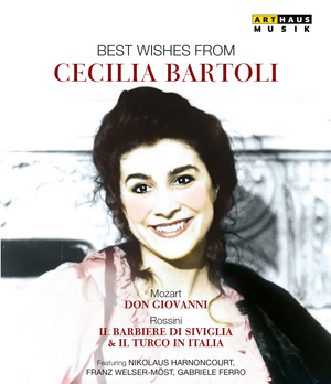 Best Wishes from Cecilia Bartoli (2002) (NTSC Version) (Retail / Rental)