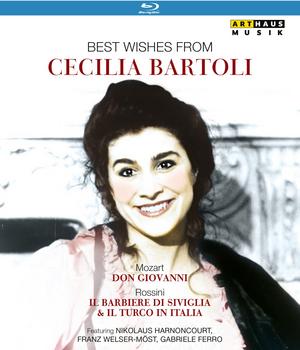 Best Wishes from Cecilia Bartoli (2002) (Blu-ray) (Retail / Rental)