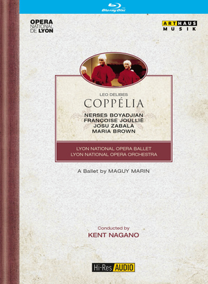 Coppélia: Lyon National Opera Ballet (Nagano) (1994) (Blu-ray) (Retail / Rental)