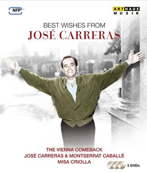 Best Wishes from José Carreras (1990) (NTSC Version) (Retail / Rental)