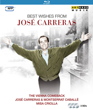 Best Wishes from José Carreras (1990) (Blu-ray) (Retail / Rental)