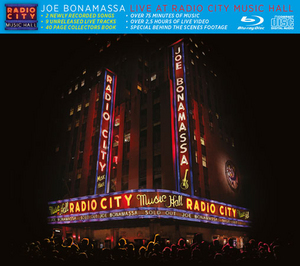 Joe Bonamassa: Live at Radio City Music Hall (2015) (Blu-ray) (with Audio CD) (Retail Only)