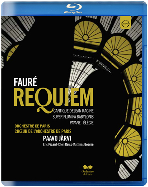 Fauré: Requiem - Choir of the Orchestre De Paris (Järvi) (2011) (Blu-ray) (Retail / Rental)