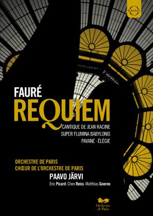 Fauré: Requiem - Choir of the Orchestre De Paris (Järvi) (2011) (NTSC Version) (Retail / Rental)