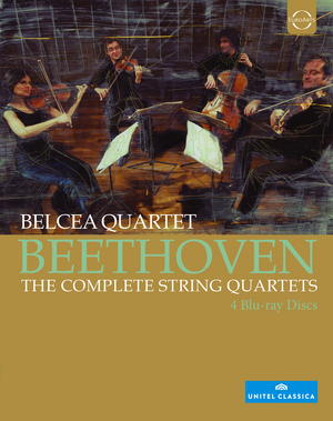 Belcea Quartet: Beethoven - The Complete String Quartets (2012) (Blu-ray) (Retail / Rental)