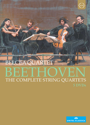 Belcea Quartet: Beethoven - The Complete String Quartets (2012) (NTSC Version) (Retail / Rental)
