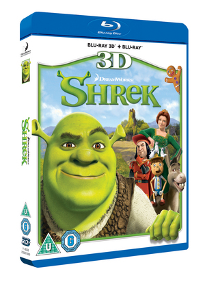 Shrek (2001) (Blu-ray) (3D Edition with 2D Edition) (Retail Only)
