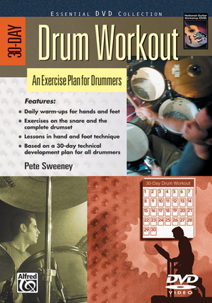 30-day Drum Workout (Retail Only)