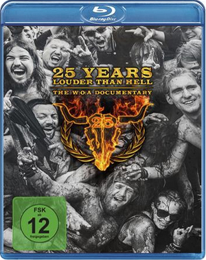 25 Years Louder Than Hell - The W:O:A Documentary (2015) (Blu-ray) (Retail Only)