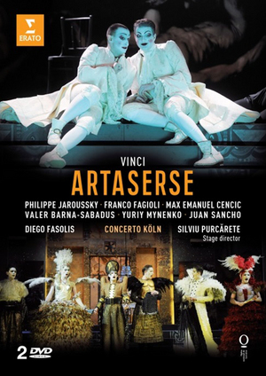 Artaserse: Opéra National De Lorraine (Fasolis) (2012) (Retail Only)