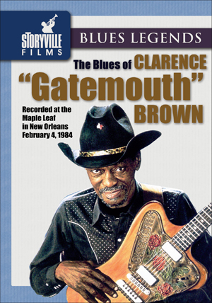 Clarence 'Gatemouth' Brown: The Blues Of (1984) (Retail / Rental)