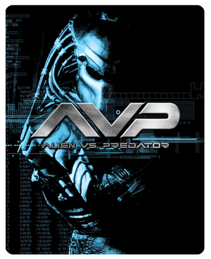 Alien Vs Predator (2004) (Blu-ray) (Limited Edition Steelbook) (Retail Only)