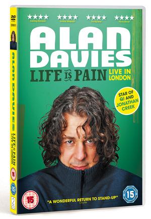 Alan Davies: Life Is Pain (2013) (Retail / Rental)