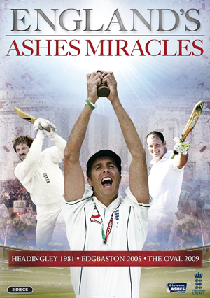 England's Ashes Miracles (2013) (Retail / Rental)