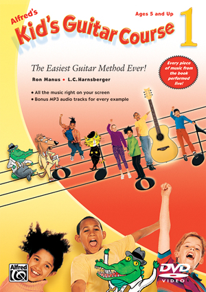 Alfred's Kid's Guitar Course 1 (Retail Only)