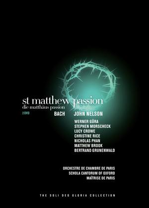 Bach: Matthaus Passion (Orchestre De Chambre De Paris) (2011) (NTSC Version) (Retail / Rental)