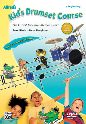 Alfred's Kid's Drumset Course (Retail Only)