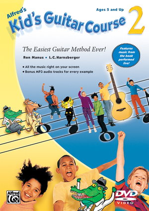 Alfred's Kid's Guitar Course 2 (Retail Only)