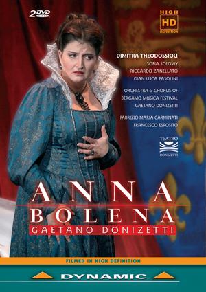 Anna Bolena: Bergamo Musica Festival Orchestra (Carminati) (Retail / Rental)