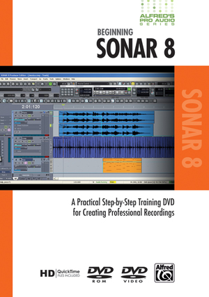 Alfred's Pro Audio: Sonar (Retail Only)