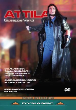Attila: Sofia National Opera (Sangiorgi) (2011) (NTSC Version) (Retail / Rental)