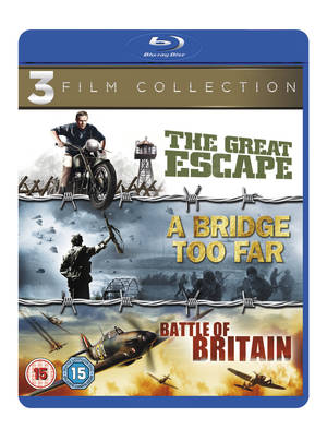 A Bridge Too Far/The Great Escape/Battle of Britain (1977) (Blu-ray) (Retail Only)