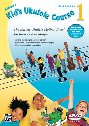 Alfred's Kid's Ukulele Course 1 (Retail Only)