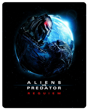 Aliens Vs Predator - Requiem (2007) (Blu-ray) (Steel Book) (Retail Only)