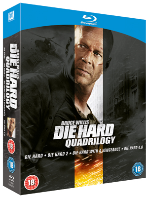 Die Hard Quadrilogy (2007) (Blu-ray) (Box Set) (Deleted)