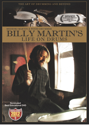 Billy Martin's Life On Drums (Retail Only)