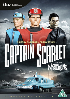 Captain Scarlet and the Mysterons: The Complete Series (1968) (Box Set) (Retail / Rental)