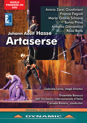 Artaserse: Festival Della Valle D'Itria (Rovaris) (2012) (NTSC Version) (Retail / Rental)