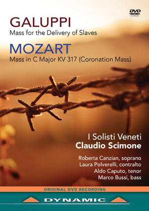 Galuppi: Mass for the Delivery of Slaves/Mozart: Coronation Mass (2014) (NTSC Version) (Retail / Rental)
