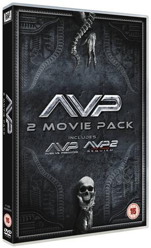 Alien Vs Predator/Aliens Vs Predator 2 - Requiem (2007) (Retail Only)