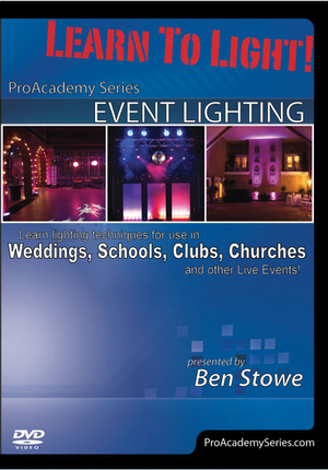 Learn to Light: Pro Academy Series - Event Lighting (2011) (Retail Only)