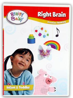 Brainy Baby: Right Brain (2011) (Retail / Rental)