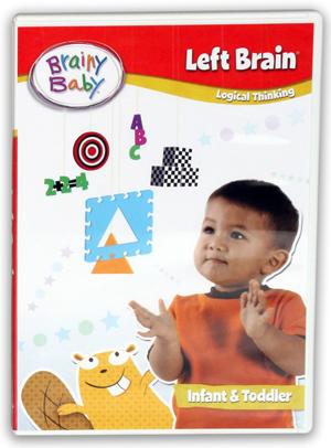 Brainy Baby: Left Brain (2011) (Retail / Rental)