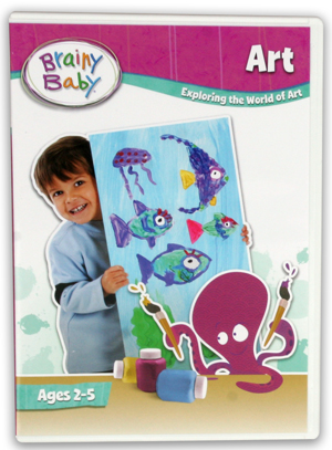 Brainy Baby: Art (2011) (Retail / Rental)