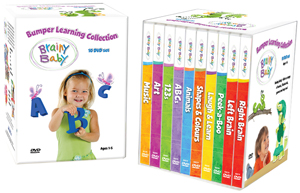 Brainy Baby: Bumper Learning Collection (2011) (Box Set) (Retail Only)