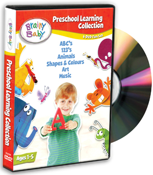 Brainy Baby: Pre-school Learning Collection (2011) (Box Set) (Retail Only)