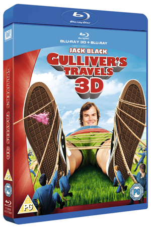 Gulliver's Travels (2010) (Blu-ray) (3D Edition with 2D Edition) (Retail Only)