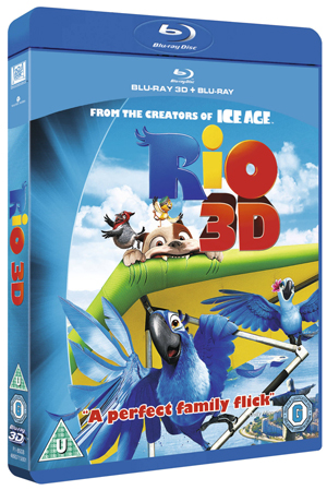 Rio (2011) (Blu-ray) (3D Edition with 2D Edition) (Retail Only)