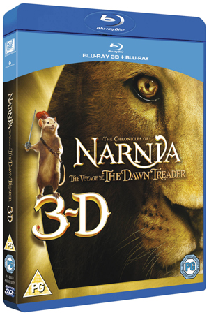The Chronicles of Narnia: The Voyage of the Dawn Treader (2010) (Blu-ray) (3D Edition with 2D Edition) (Retail Only)