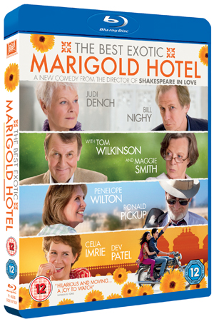 The Best Exotic Marigold Hotel (2011) (Blu-ray) (with Digital Copy - Double Play) (Retail Only)
