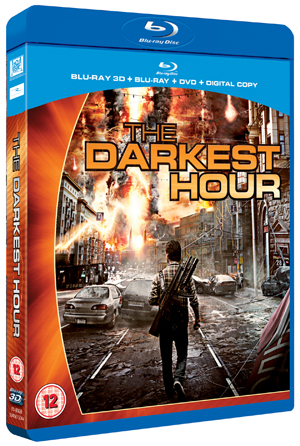 The Darkest Hour (2011) (Blu-ray) (3D Edition + 2D Edition + DVD + Digital Copy) (Retail Only)