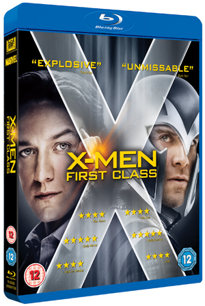 X-Men: First Class (2011) (Blu-ray) (Retail Only)