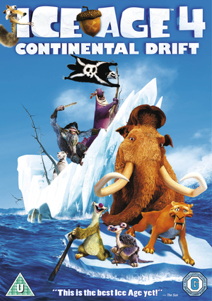 Ice Age 4 - Continental Drift (2012) (Blu-ray) (Retail Only)