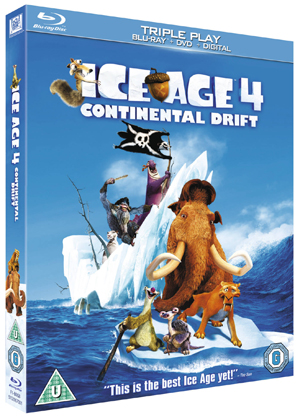 Ice Age 4 - Continental Drift (2012) (Blu-ray) (+ DVD and Digital Copy - Triple Play) (Deleted)